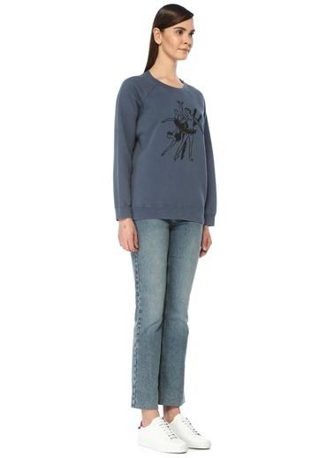 Alexa Chung for AG Sweatshirt Lacivert